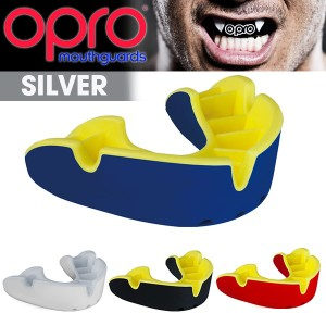 OPRO(オープロ)シールド シルバー (マウスガード/けが防止/集中力アップ)(パケット便送料無料)