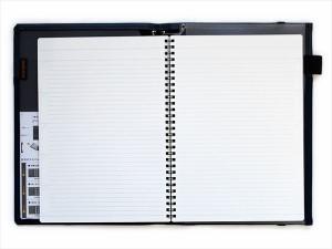 カバーノート (2冊収容・B罫リングノート) B5 紺 ノ-V683B-DB◆コクヨ◆Campus学習罫ノート