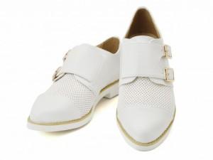SALE☆Perky(パーキー) レディース ダブルモンクシューズ 25931 ホワイト