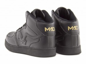 SALE☆MADFOOT!(マッドフット) MAD RUIAN MID(マッドルイアンMID) 160002 ブラック/ブラック【限定商品】 | キッズ スニーカー 男の子
