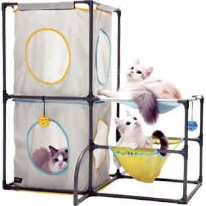 SPORT PET(スポーツペット) キャットプレイセンター 【キャットタワー/猫タワー】【猫のおもちゃ・猫用おもちゃ】