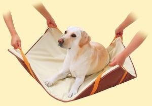 ペティオ 老犬介護用 運搬補助マット(中・大型犬用)