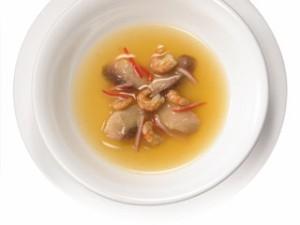 モンプチ パウチスープ(キャットフード・成猫用) まぐろ・かにかま・小海老入り 40g 【キャットフード/ウェットフード/成猫用】