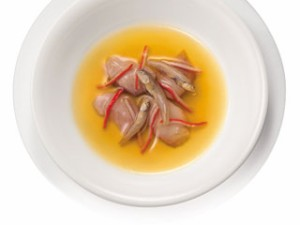 モンプチ パウチスープ(キャットフード・成猫用) 小魚・かにかま・かつお入り 40g 【キャットフード/ウェットフード/成猫用】