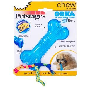 ペットステージ(Petstages)ミニ・オルカボーン 【犬のおもちゃ/犬用おもちゃ/ラバートーイ(合成ゴム)】
