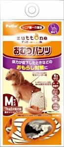 ペティオ 老犬介護用 おむつパンツ サスペンダー付き M(小型犬用)
