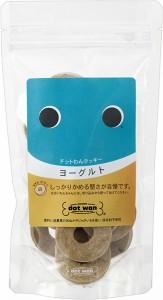 ドットわん クッキー ヨーグルト 18枚入 【国産・無添加・自然食ドッグフード】