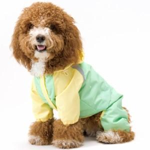 アスク ベチックアッシュ フルサポートレインウェア(4号〜6号) 【小型犬〜中型犬用/フルカバータイプ/雨具/カッパ/犬 服】