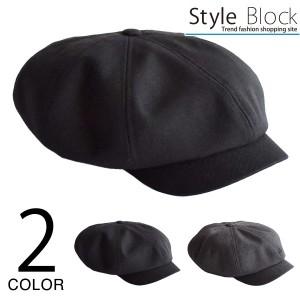 キャスケット ハンチング キャップ 帽子 2way ツイル 小物 メンズ チャコール ブラック SALE セール