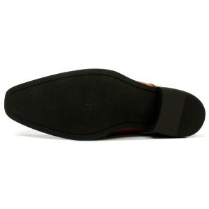 送料無料【AAA+ サンエープラス】ビジネスシューズ ビットローファー2625LBR/メンズ/革靴/靴