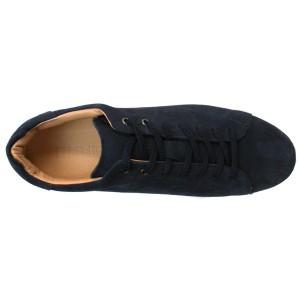 送料無料【DEDESKEN デデスケン】本革スエードホワイトソールスニーカー10585 スニーカー メンズ靴