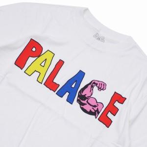 2d22d7c7e966 (新品)Palace Skateboards(パレス スケートボード) MUSCLE T-SHIRT WHITE  420-000150-040x 新品 (半袖Tシャツ)