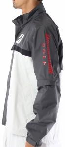 ブリヂストン ゴルフ メンズゴルフウエア 水神 レインブルゾン 85G01 (上着のみ パンツは別売り)
