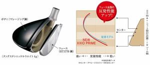 ダンロップ 2017NEW ゼクシオ プライム ユーティリティ MP-900 カーボンシャフト