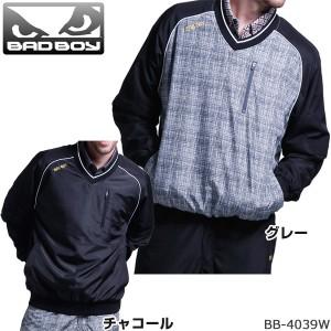 バッドボーイ BADBOY メンズ ゴルフウエア Vネックブルゾン BB-4039W