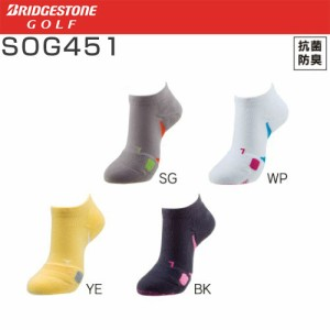 ブリヂストンゴルフ BRIDGESTON GOLF ゴルフウエア レディース 3Dソックスベーシック アンクル丈 SOG451