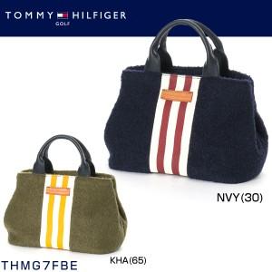 トミー ヒルフィガー ゴルフ TOMMY HILFIGER ストライプ ラウンドトート THMG7FBE