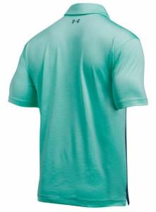アンダーアーマー メンズ ゴルフウエア 半袖ポロシャツ UA COOLSWITCH UPRIGHT STRIPE POLO 1290147