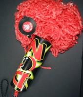 DONクラッカー(赤) (1本入)【パーティークラッカー・イベント・祝勝会・お祝い・誕生日・宴会・結婚式・二次会・幹事】