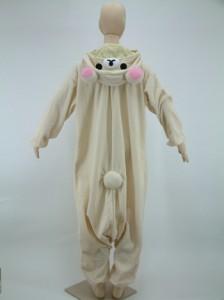 送料無料 ハロウィン コスプレ 仮装 フリース 着ぐるみ キャラクター 大人用 コリラックマ 着ぐるみパジャマ 部屋着 文化祭 お祭り