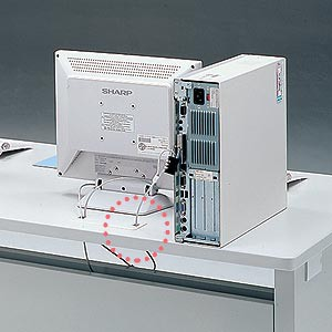 eデスク Sタイプ・W1550×D500mm[ED-SK15550N]