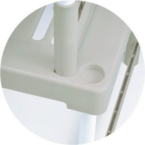 【送料無料!ポイント2%】押入整理棚 レギュラータイプ 2個組 NI-002N 収納ラック 布団収納 押入れ 収納 押入れ収納 クローゼット