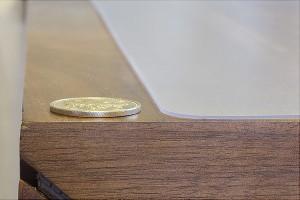 【送料無料!ポイント10%】Achilles アキレス 透明キッチンフロアマット 60×90cm  キッチンマット マット 透明 国産 日本製
