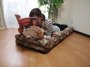 【送料無料!ポイント2%】ごろ寝座椅子 ゴブラン  座椅子 椅子 いす チェア 昼寝 昼寝用 快適