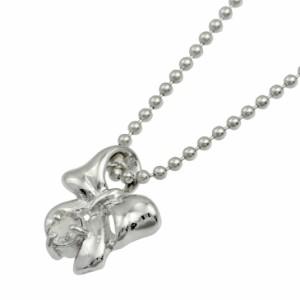 ネックレス レディース 誕生石 シルバー 人気 リボン ネックレス 4月誕生石天然ダイヤモンド ギフト 送料無料 クリスマス ギフト
