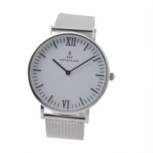 キャプテンアンドサン KAPTEN & SONS Campus-M-SWS メッシュ 40mm ユニセックス腕時計 ブランド クロス セット 送料無料
