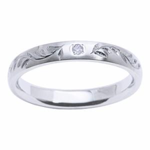 f'e-f'e フェフェ リング レディース 指輪 ステンレス リング 手掘り ダイヤモンドfe-231 【送料無料】 誕生日プレゼント ギフト