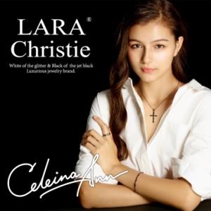 刻印 対象商品 LARA Christie ララクリスティー ノーブル クロス ペアネックレス あす着 送料無料 クリスマス ギフト