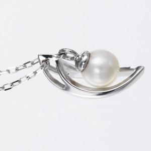 Velsepone(ベルセポーネ) K18WG あこやパール 真珠 ネックレス vp-665204-k18【送料無料】 クリスマス ギフト