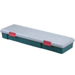 収納 ボックス アイリスオーヤマ 車 RVBOX RVボックス 1150F グレー/ダークグリーン(幅115×奥行35×高さ15.5cm)
