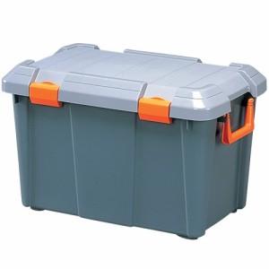 収納 ボックス アイリスオーヤマ HDBOX 600D グレー/モスグリーン(幅60×奥行37.5×高さ38cm)