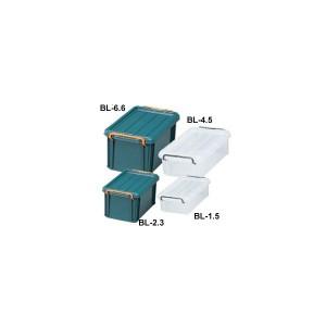 バックルコンテナ BL-1.5 ダークグリーン・クリア アイリスオーヤマ