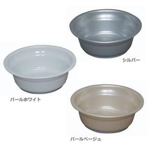 湯おけ BO-260AG パールホワイト[抗菌・防カビ・撥水のトリプル効果] アイリスオーヤマ