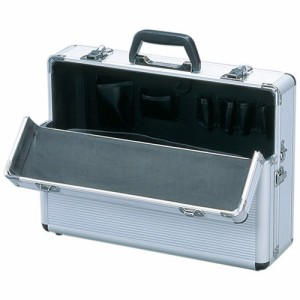ソリッドケース SLC-15 シルバー[アタッシュケース・工具箱・小物収納]  アイリスオーヤマ