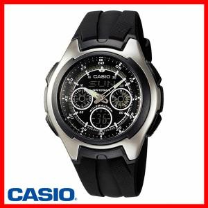 【メール便】【送料無料】腕時計 メンズ アナデジ(アナログ・デジタル) 父の日 腕時計スタンダードウォッチ AQ-163W-1B1JF代引不可DC