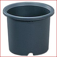 菊鉢 7号 グレー [ガーデニング用品・鉢植え・受け皿] アイリスオーヤマ