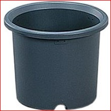 菊鉢 10号 グレー [ガーデニング用品・鉢植え・受け皿] アイリスオーヤマ