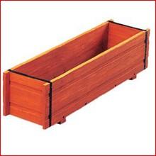 ウッドメッシュボックス WMJ-780 イエローパイン [ガーデニング用品・プランター・鉢植え・ベランダ] アイリスオーヤマ