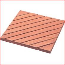 (数量限定アウトレット)44.8×44.8cm■木製テラスデッキ NT-45 ブラウン [ガーデン・ガーデニング・庭]  アイリスオーヤマ