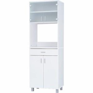 (数量限定アウトレット)≪LGシリーズ≫食器棚 LGW-1860W ホワイト アイリスオーヤマ 送料無料