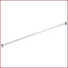(幅120cm) メタルラックサイドバー MR-120S [ポール径25mm・パーツ]