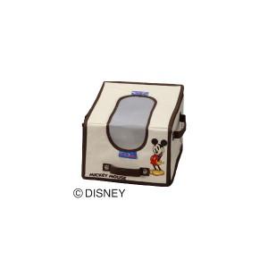 収納ボックス ディズニー [ミッキー キッズコットンインナー CIM-2216 ブラウン](数量限定アウトレット) アイリスオーヤマ