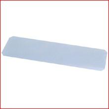 (幅107.5×32.5cm) メタルミニ硬質クリアシート MTO-1135E [ポール径19mm・メタルラック・パーツ]