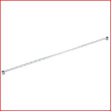 (幅150cm) メタルラックサイドバー MR-150S [ポール径25mm・パーツ]