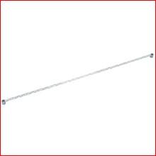 (幅180cm) メタルラックサイドバー MR-180S [ポール径25mm・パーツ] (代引不可) (大型宅配便)
