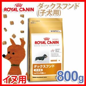 ロイヤルカナン ダックスフンド 子犬用 800g ペットフード・犬用品・健康  プラザセレクト